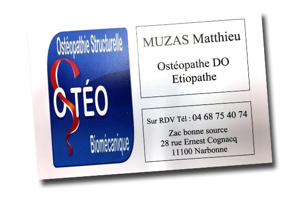 Ostéopathe Narbonne