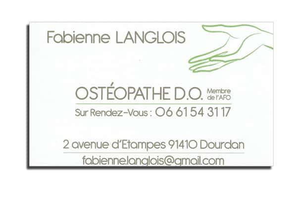 Ostéopathe à Dourdan